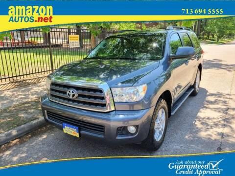 2008 Toyota Sequoia for sale at Amazon Autos in Houston TX