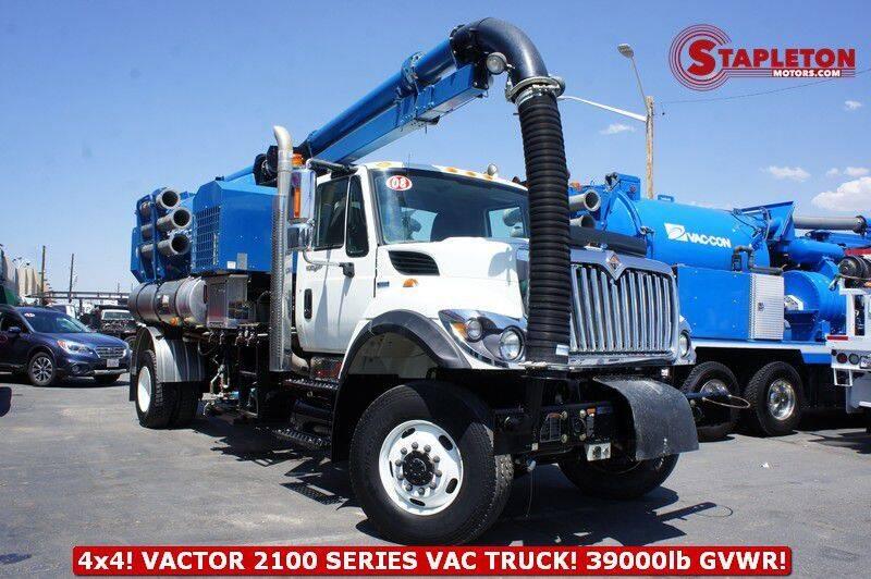 2008 International WorkStar 7500 for sale at STAPLETON MOTORS in Commerce City CO