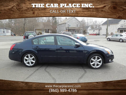 2006 Nissan Maxima for sale at THE CAR PLACE INC. in Somersville CT