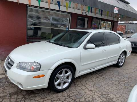 2002 Nissan Maxima for sale at B Quality Auto Check in Englewood CO