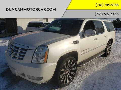 2007 Cadillac Escalade ESV for sale at DuncanMotorcar.com in Buffalo NY