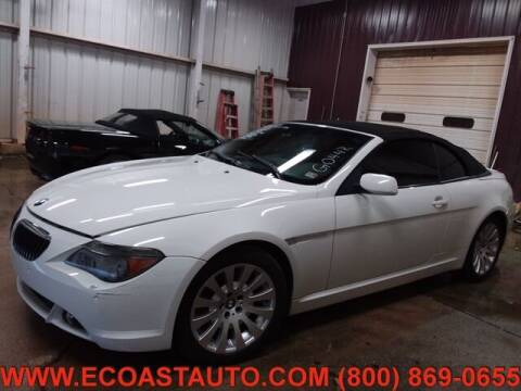 2005 BMW 6 Series for sale at East Coast Auto Source Inc. in Bedford VA