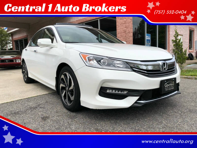 2016 Honda Accord for sale at Central 1 Auto Brokers in Virginia Beach VA