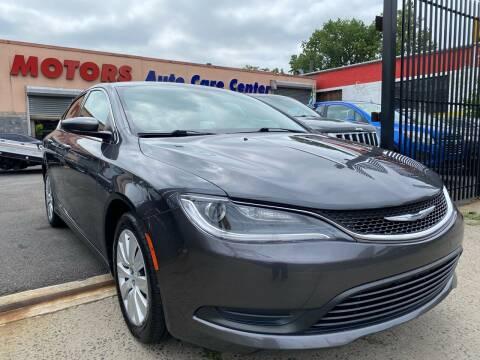 2015 Chrysler 200 for sale at Celebrity Motors in Newark NJ
