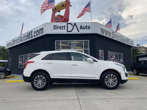 2019 Cadillac XT5 for sale at Direct Auto in D'Iberville MS