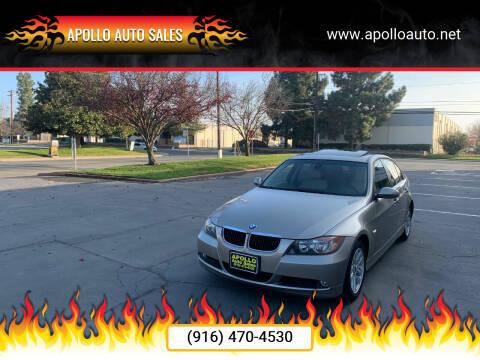 2007 BMW 3 Series for sale at APOLLO AUTO SALES in Sacramento CA