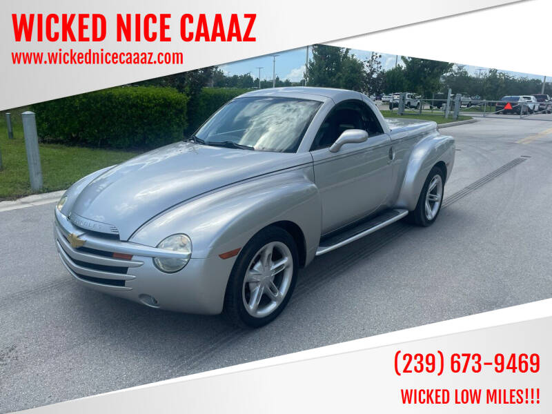 2004 Chevrolet SSR for sale at WICKED NICE CAAAZ in Cape Coral FL