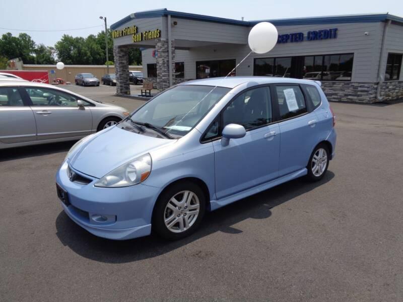 2008 Honda Fit for sale at KARS R US of Spartanburg LLC in Spartanburg SC