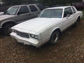 1981 Chevrolet Monte Carlo for sale at Seneca Motors, Inc. (Seneca PA) in Seneca PA