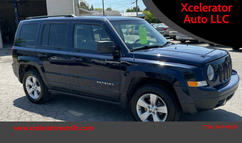 2014 Jeep Patriot for sale at Xcelerator Auto LLC in Indiana PA