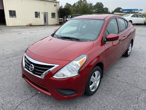 2016 Nissan Versa for sale at Brewster Used Cars in Anderson SC