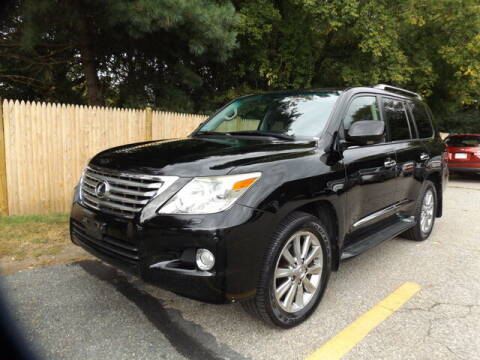 2011 Lexus LX 570 for sale at Wayland Automotive in Wayland MA