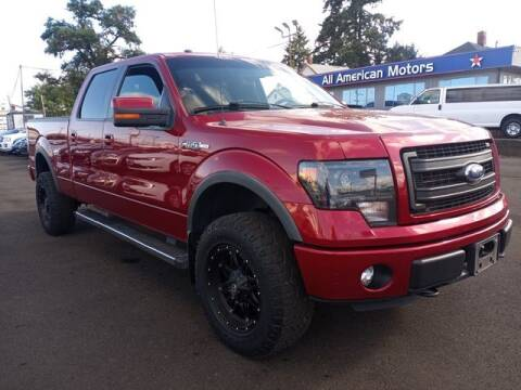 2014 Ford F-150 for sale at All American Motors in Tacoma WA