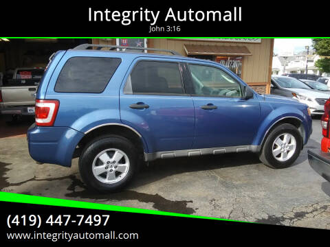 2009 Ford Escape for sale at Integrity Automall in Tiffin OH