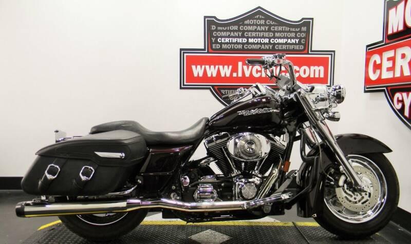 2005 Harley-Davidson ROAD KING CUSTOM for sale at Certified Motor Company in Las Vegas NV