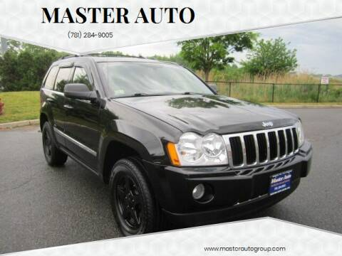 2007 Jeep Grand Cherokee for sale at Master Auto in Revere MA