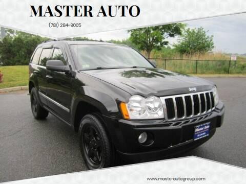 2007 Jeep Grand Cherokee for sale at Master Auto in Revere MA