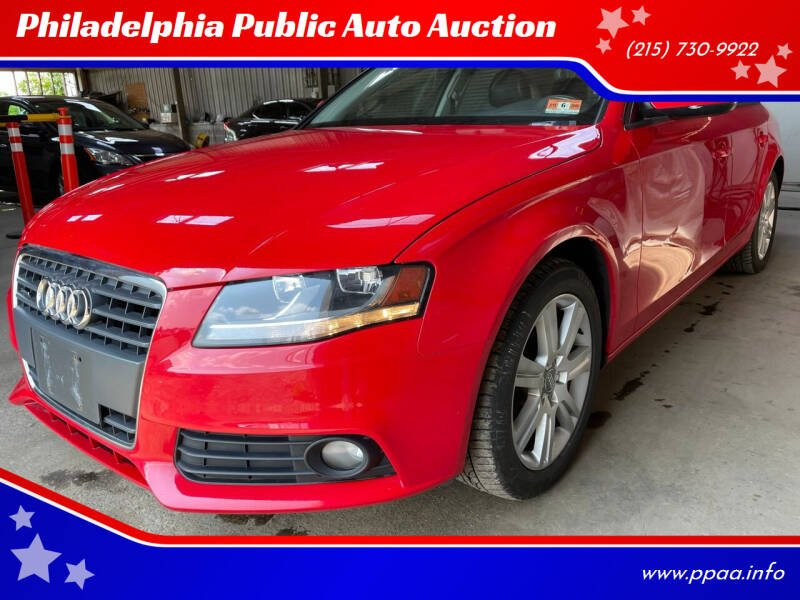 2011 Audi A4 for sale at Philadelphia Public Auto Auction in Philadelphia PA