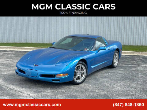 2004 Chevrolet Corvette for sale at MGM CLASSIC CARS in Addison, IL