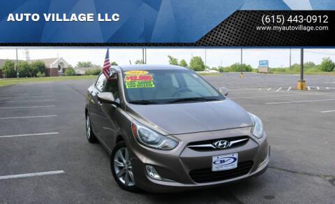 2013 Hyundai Accent for sale at AUTO VILLAGE LLC in Lebanon TN