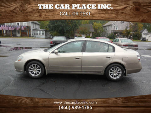 2005 Nissan Altima for sale at THE CAR PLACE INC. in Somersville CT