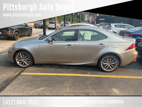 2014 Lexus IS 250 for sale at Pittsburgh Auto Depot in Pittsburgh PA