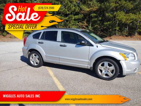 2007 Dodge Caliber for sale at WIGGLES AUTO SALES INC in Mableton GA