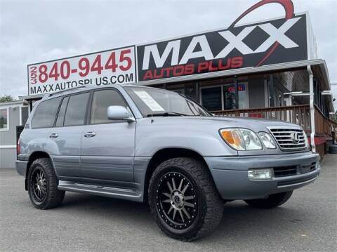 2003 Lexus LX 470 for sale at Maxx Autos Plus in Puyallup WA