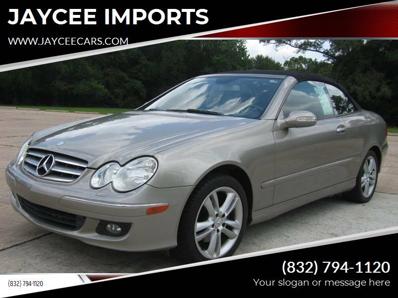 2007 Mercedes-Benz CLK for sale at JAYCEE IMPORTS in Houston TX