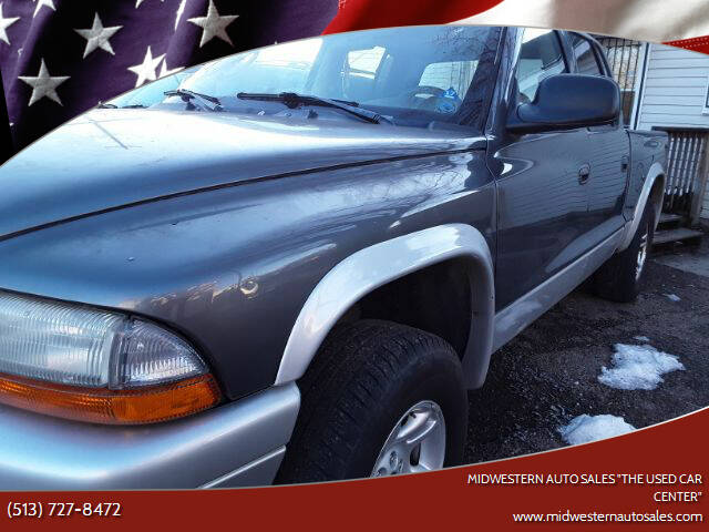 "2003 Dodge Dakota for sale at MIDWESTERN AUTO SALES        ""The Used Car Center"" in Middletown OH"