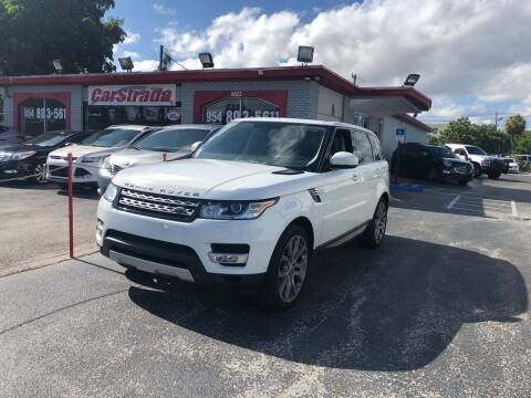 2014 Land Rover Range Rover Sport for sale at CARSTRADA in Hollywood FL