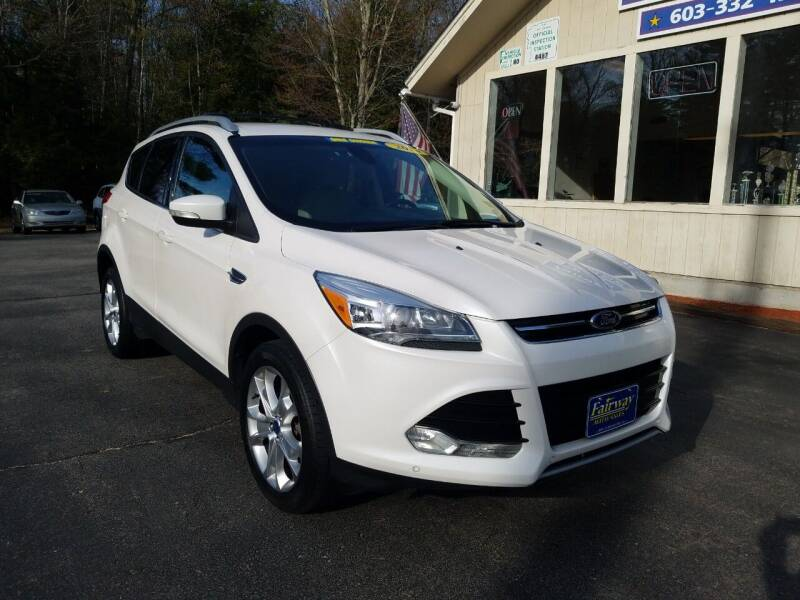 2014 Ford Escape for sale at Fairway Auto Sales in Rochester NH