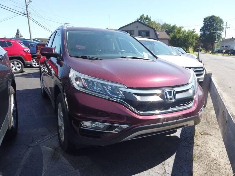 2015 Honda CR-V for sale at RS Motors in Falconer NY