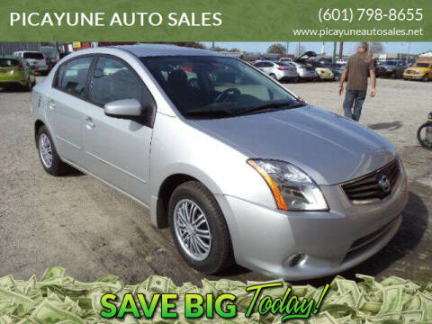 2011 Nissan Sentra for sale at PICAYUNE AUTO SALES in Picayune MS