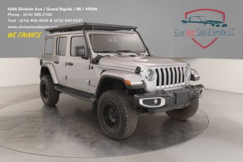 2019 Jeep Wrangler Unlimited for sale at Elvis Auto Sales LLC in Grand Rapids MI