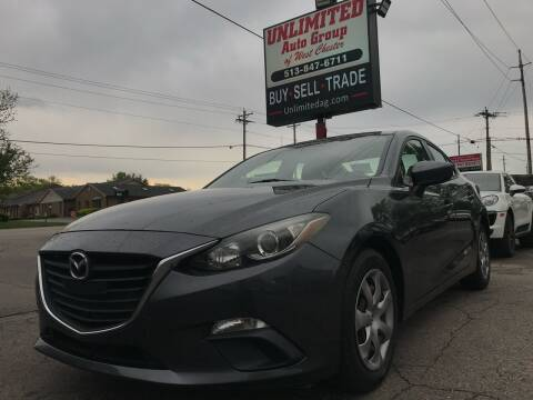 2014 Mazda MAZDA3 for sale at Unlimited Auto Group in West Chester OH