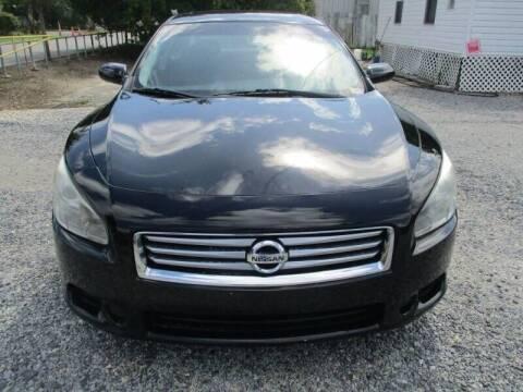 2014 Nissan Maxima for sale at Special Finance of Charleston LLC in Moncks Corner SC