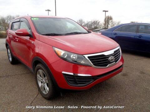 2012 Kia Sportage for sale at Gary Simmons Lease - Sales in Mckenzie TN