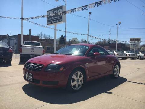 2002 Audi TT for sale at Dino Auto Sales in Omaha NE