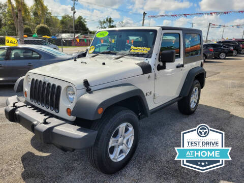 2008 Jeep Wrangler for sale at GP Auto Connection Group in Haines City FL