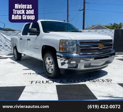 2013 Chevrolet Silverado 1500 for sale at Rivieras Truck and Auto Group in Chula Vista CA