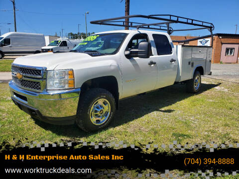 2014 Chevrolet Silverado 2500HD for sale at H & H Enterprise Auto Sales Inc in Charlotte NC
