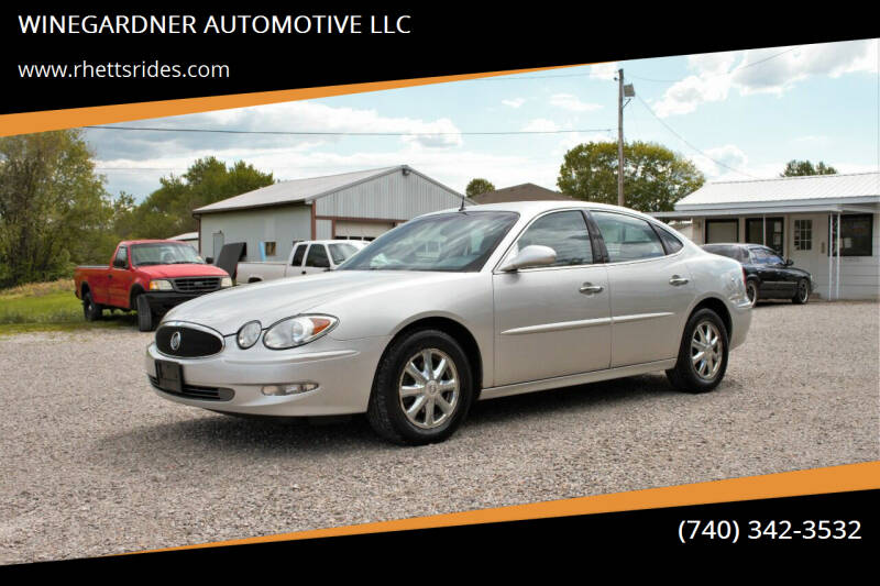 2005 Buick LaCrosse for sale at WINEGARDNER AUTOMOTIVE LLC in New Lexington OH