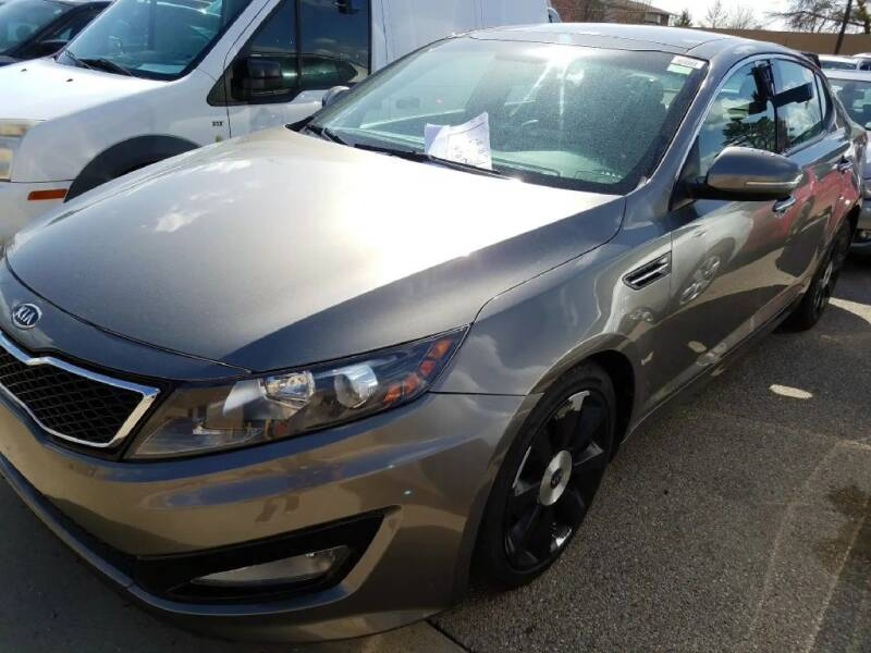 2012 Kia Optima for sale at Glory Auto Sales LTD in Reynoldsburg OH