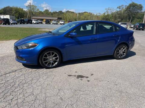 2013 Dodge Dart for sale at Adairsville Auto Mart in Plainville GA