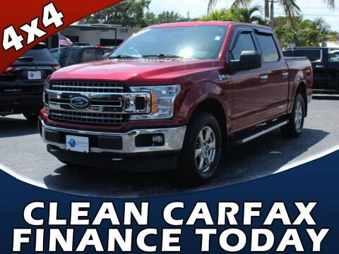 2018 Ford F-150 for sale at Palm Beach Auto Wholesale in Lake Park FL