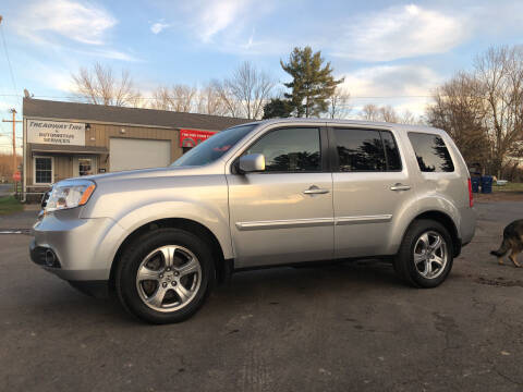 2015 Honda Pilot for sale at Jim's Hometown Auto Sales LLC in Byesville OH