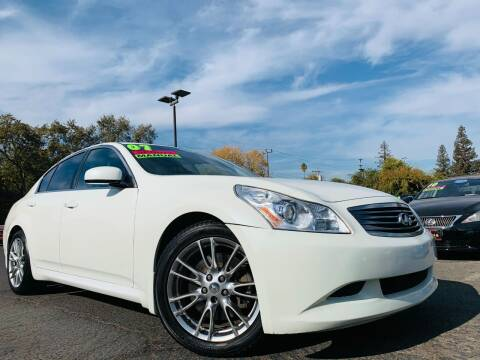 2007 Infiniti G35 for sale at Alpha AutoSports in Roseville CA