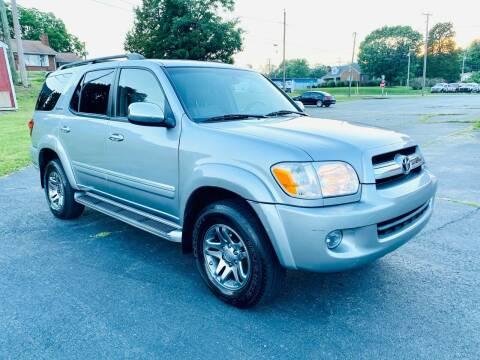 2007 Toyota Sequoia for sale at ANZ AUTO CONCEPTS LLC in Fredericksburg VA