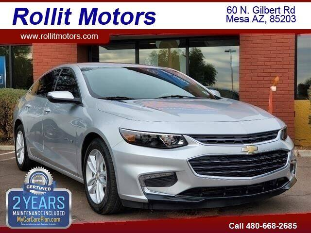 2018 Chevrolet Malibu for sale at Rollit Motors in Mesa AZ